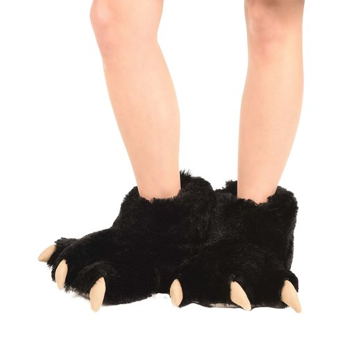 Black Bear Paw Slipper