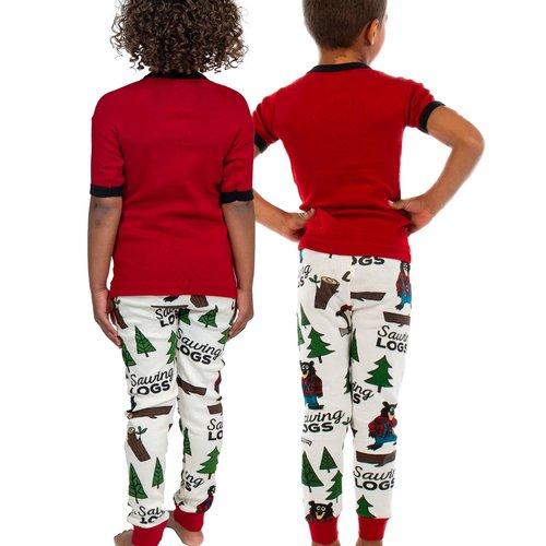 Sawing Logs Kid's PJ Set