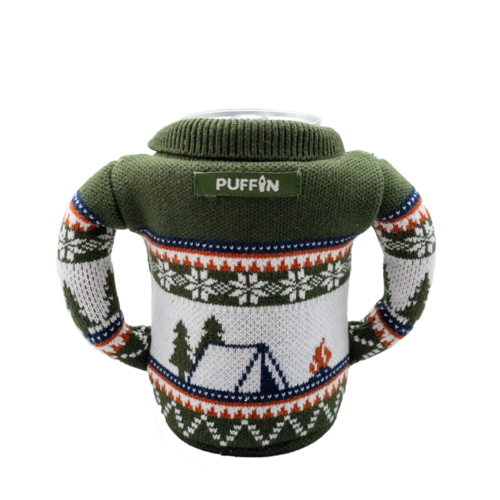 Puffin Coolers Beverage Holiday Sweater