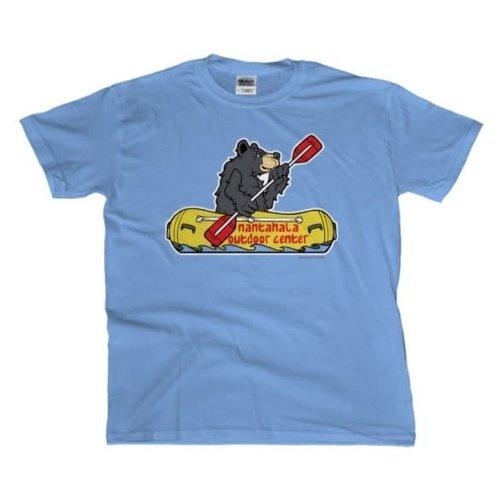 NOC Nantahala Rafting Bear Kids' T-Shirt