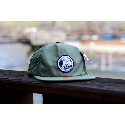 NOC Original Logo Rubber Patch Hat -