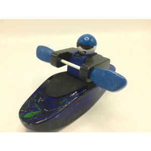 Foamie Boater Foamie Boater - Premium Wooden Swirl