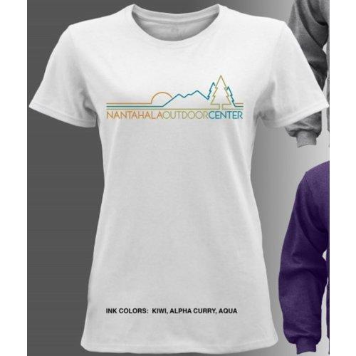 NOC Women's Nantahala Line Logo Tee