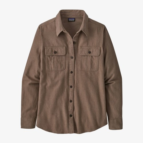 Patagonia Women's Long-Sleeved Organic Cotton Midweight Fjord Flannel Shirt
