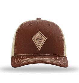 NOC NOC Leather Diamond Hat
