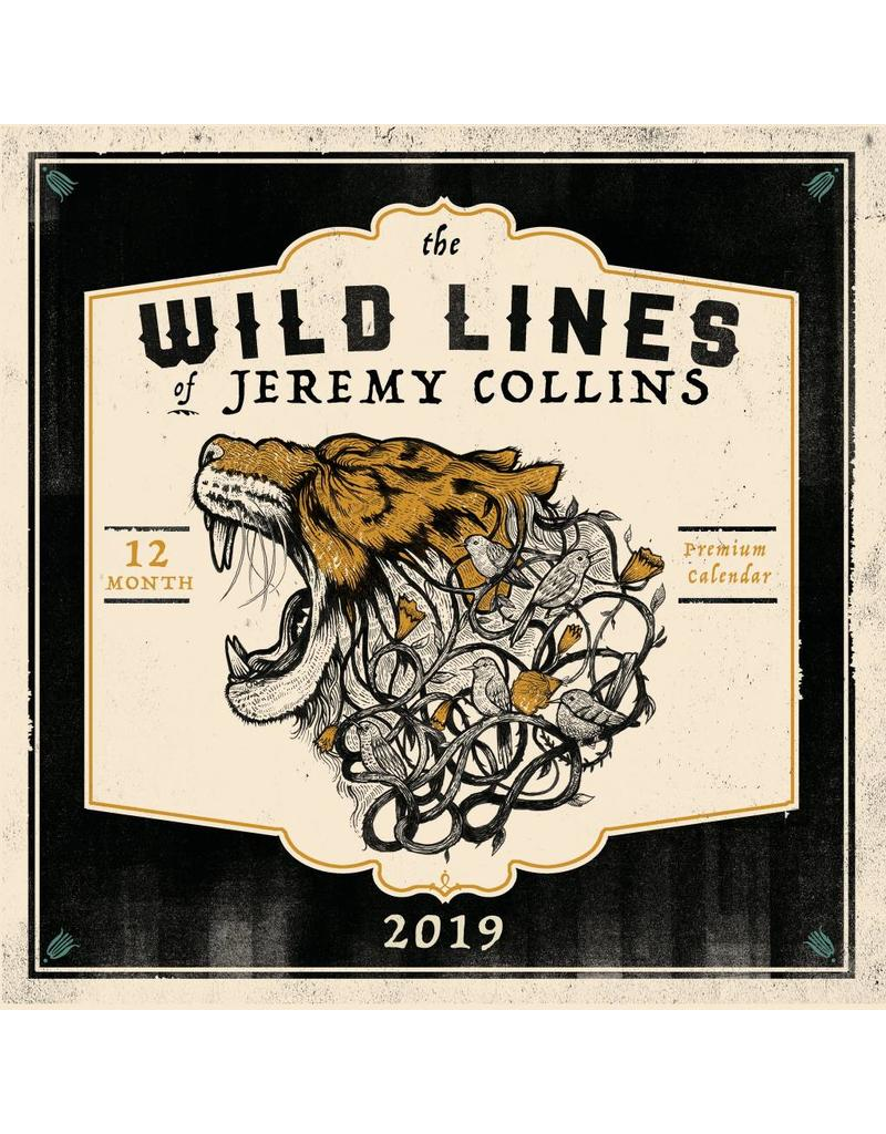MOUNTAINEERS BOOKS The Wild Lines of Jeremy Collins Calendar 2019