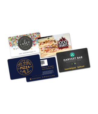 Restaurant Gift Cards (Matte)