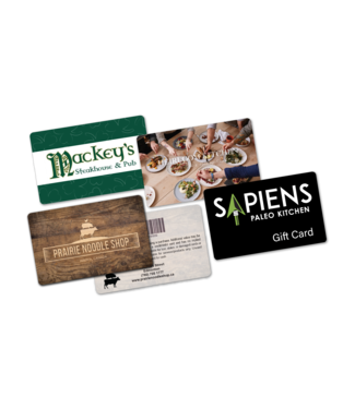 Restaurant Gift Cards (Glossy)