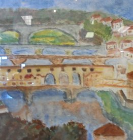 15 - Gary Fauble Florence/Arno watercolor