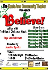 Kettering Theater Believe! X*ACT Saturday, Dec., 08, 2018 | 7:30 PM Christmas Show
