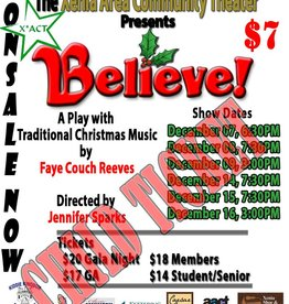 Kettering Theater Believe! X*ACT Child's Ticket