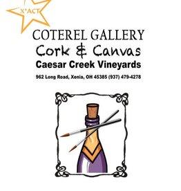 Coterel Gallery Cork & Canvas @ Caesars Creek Vineyard | DEC 13, 2018