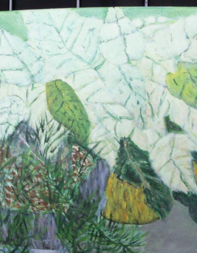 15 - Gary Fauble poinsettas acrylic