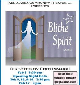 Kettering Theater Blithe Spirit, Fri, Feb., 15, 2019 | 7:30 PM