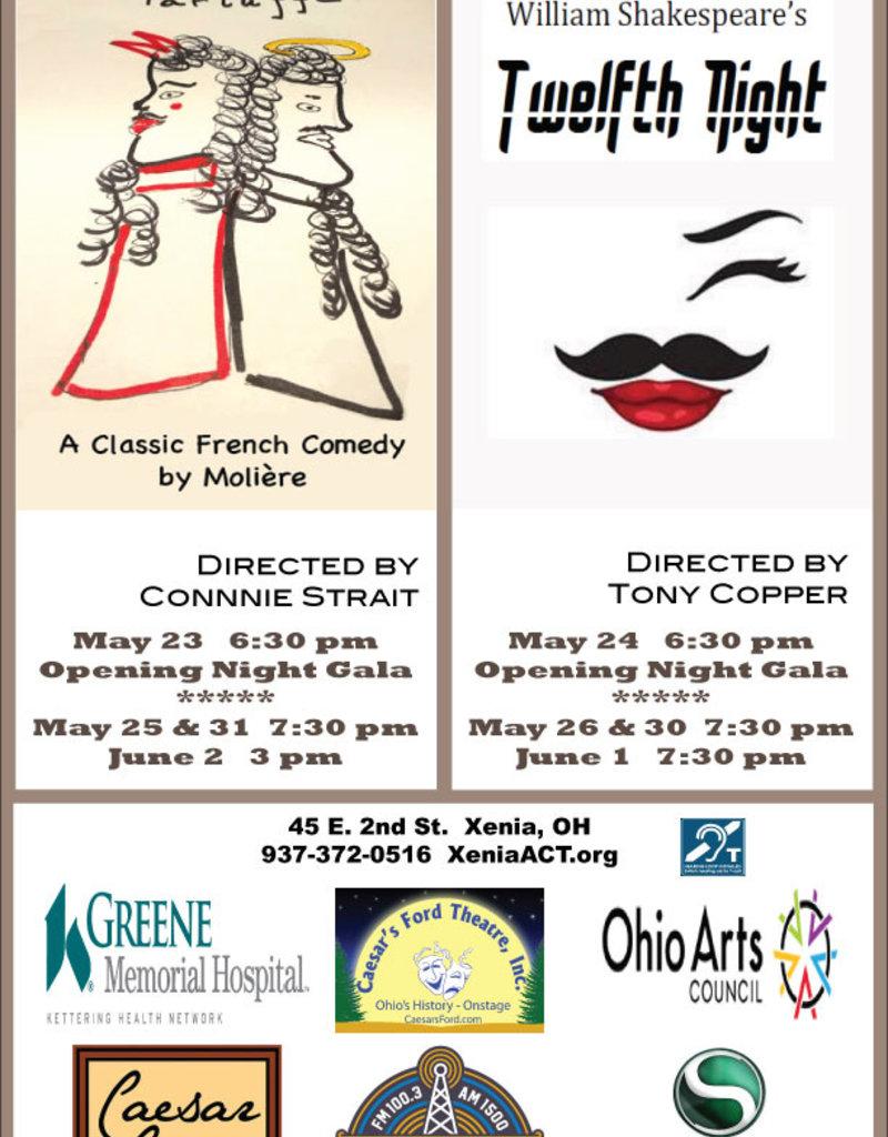 Kettering Theater TARTUFFE -Sat., May 25, 2019 @ 7:30 PM