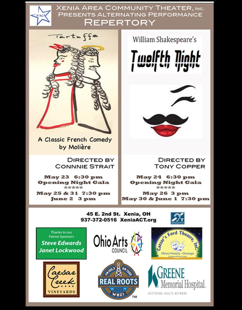 Kettering Theater TWELFTH NIGHT - Sun., May 26, 2019 @ 3:00 PM