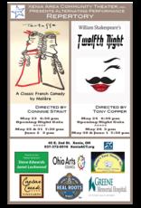 Kettering Theater TWELFTH NIGHT - Sat., June 1, 2019 @ 7:30 PM