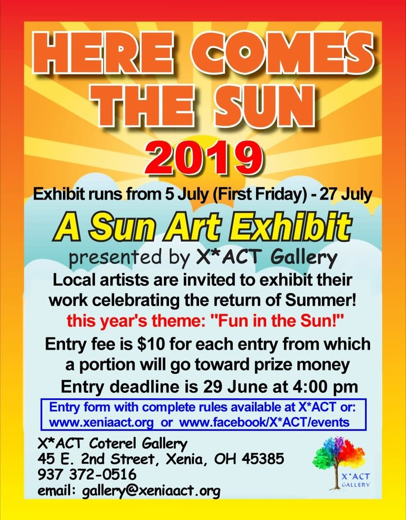 Coterel Gallery Here Comes the Sun 2019 Entry Fee