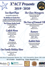 Kettering Theater Season Subscription 2019-2020 Full Season - 8 Shows