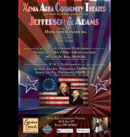 Kettering Theater Jefferson & Adams - Saturday, June 29th 7:30pm @ Caesar Creek Vinyeyard