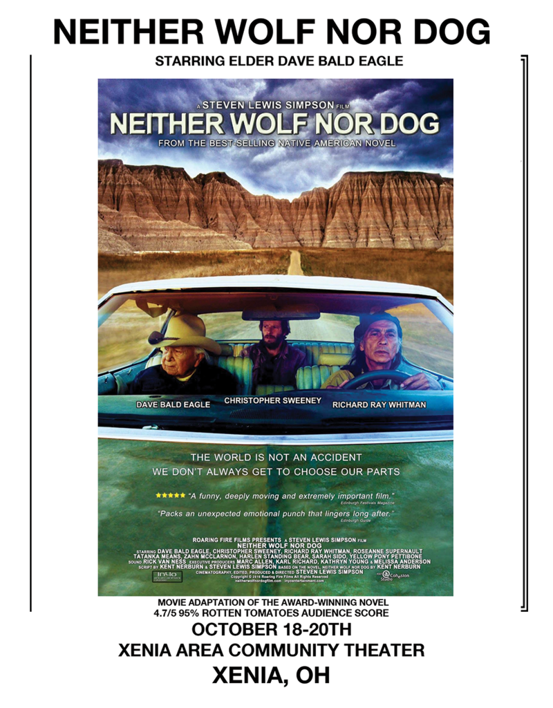 Kettering Theater Neither Wolf Nor Dog (Cinema)   Fri.,  October 18th @ 7:30pm