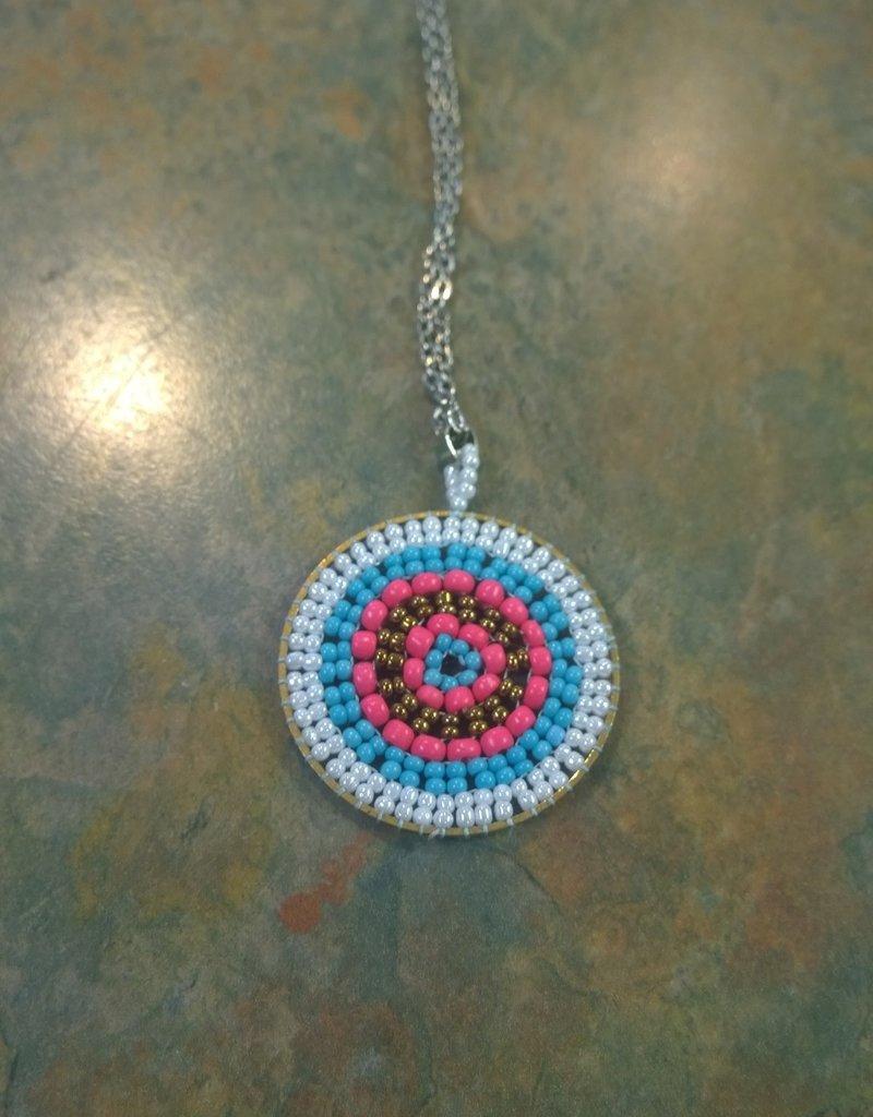 11 - Virginia Ackerman Beaded Necklace