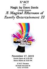 Dave Davis Family Magic Show by Dave Davis, Sun. Nov 17, 2019
