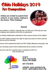 Coterel Gallery Ohio Holidays 2019 Art Competition DEADLINE: NOV 16th