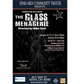 Kettering Theater Glass Menagerie - Saturday, January 11, 2020 | 7:30 PM