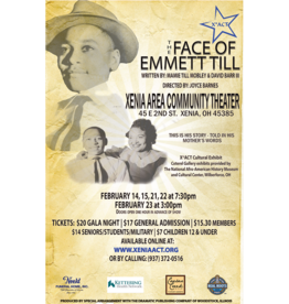 Kettering Theater The Face of Emmett Till - Friday, February 14, 2020 | 6:30 PM | Gala Fundraiser Night