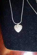 11 - Virginia Ackerman Silver Chain with Heart