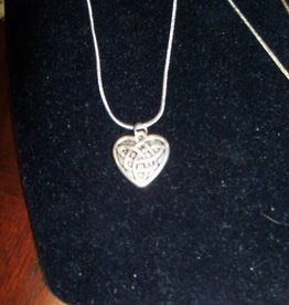 11 - Virginia Ackerman Silver Chain with Heart