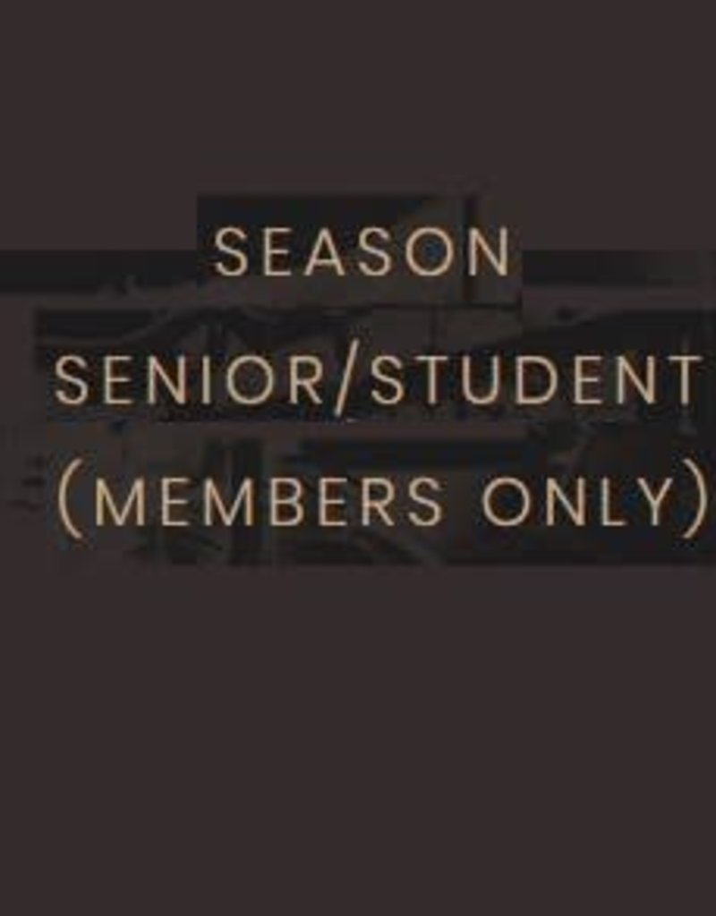 Kettering Theater Season Subscription Student/Senior (Members)