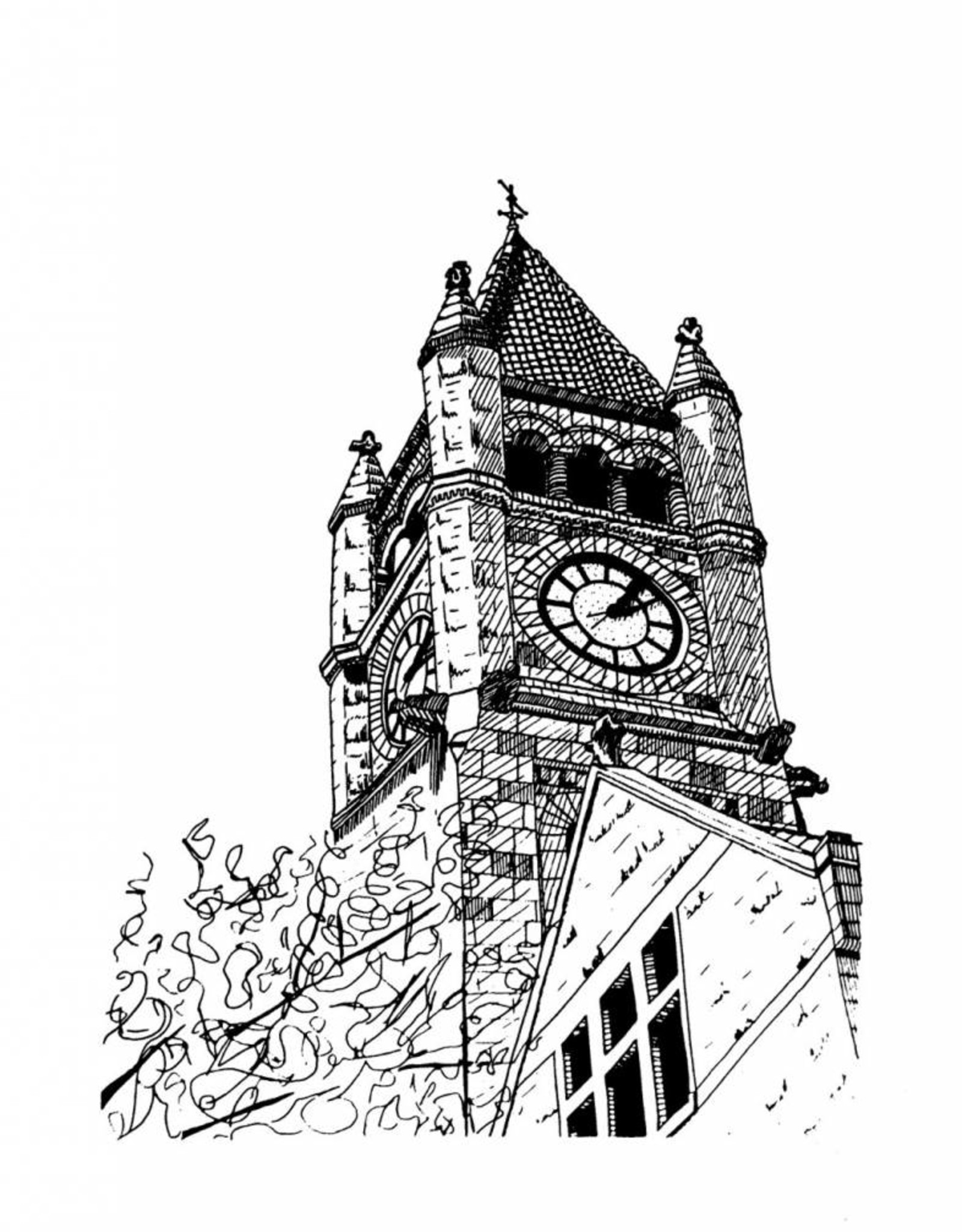 6 - Elizabeth Patterson Xenia Clock Tower