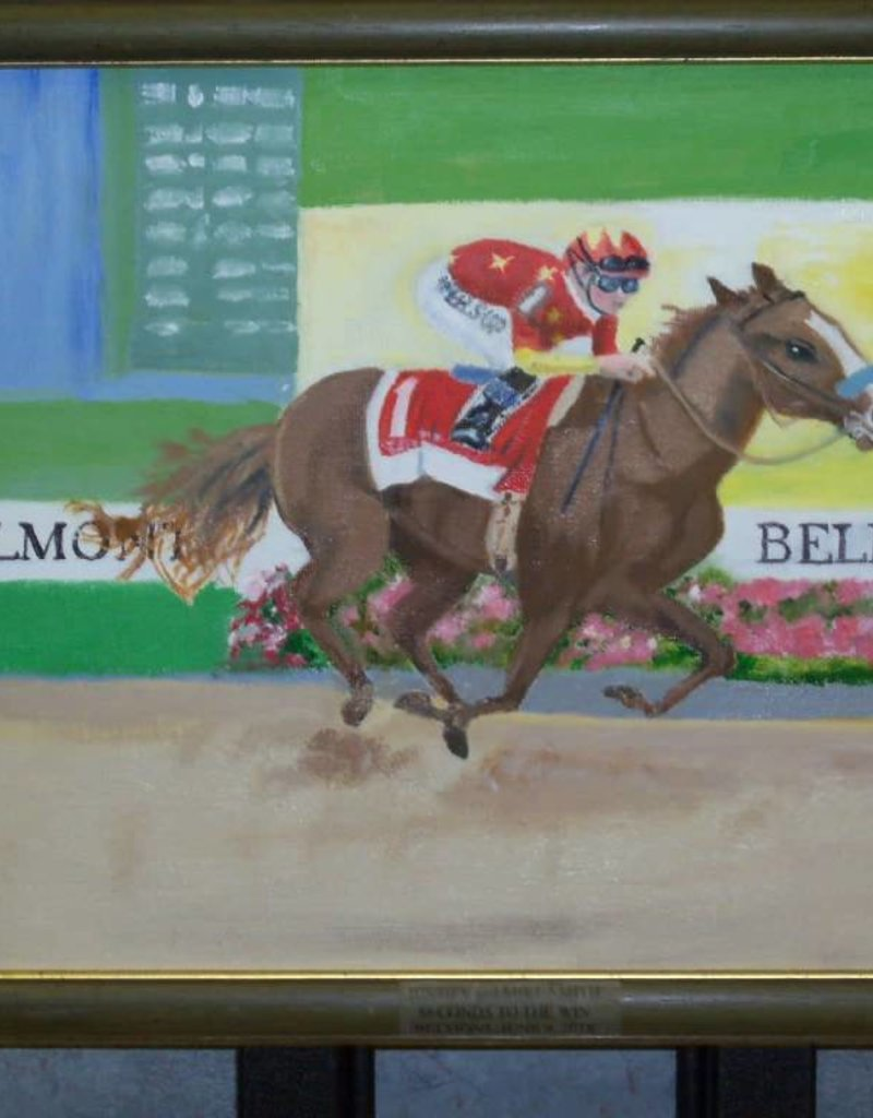 19 - Harry Osman Painting of Race Horse