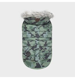 CANADA POOCH CANADA POOCH Green Camo Everest Explorer Coat