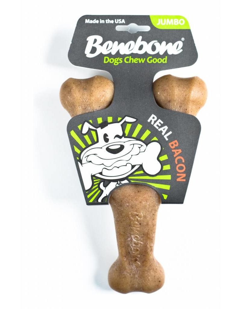 BENEBONE BENEBONE Bacon Wishbone Dog Chew