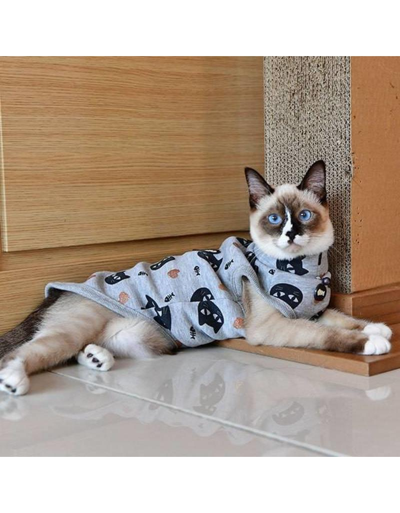 PUPPIA CATSPIA Milo Turtle Neck Grey