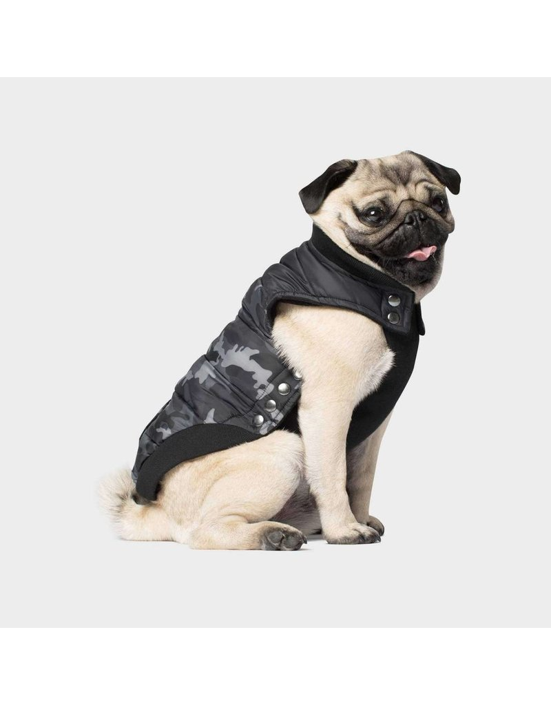CANADA POOCH CANADA POOCH Summit Stretch Vest Black Camo