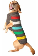 Chilly Dog Sweaters CHILLY DOG Charcoal Stripe Sweater