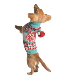 Chilly Dog Sweaters CHILLY DOG Peppermint Hoodie Sweater