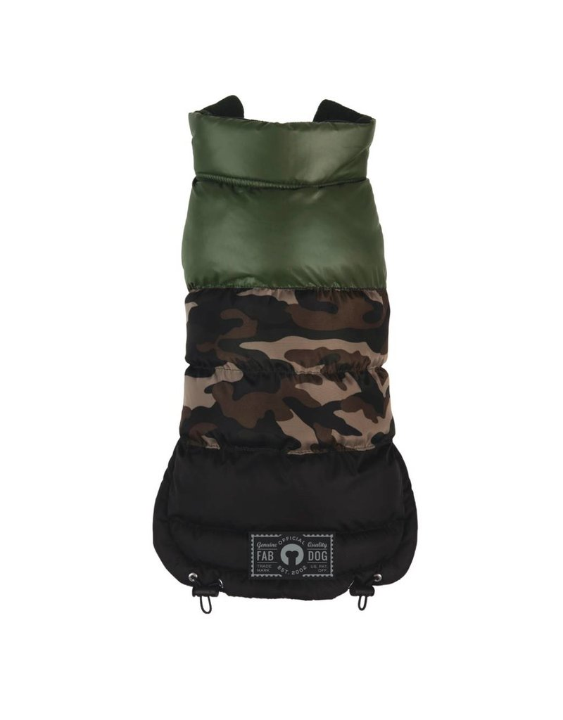 Fab Dog FAB DOG Camo Colorblock Puffer
