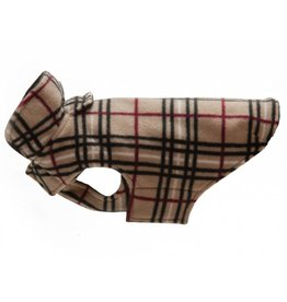 RC PET RC Pet Whistler Winter Wear Fleece 2.0 Tan Tartan
