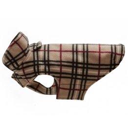 RC PET RC Pet Whistler Winter Wear Fleece 2.0 Tan Tartan
