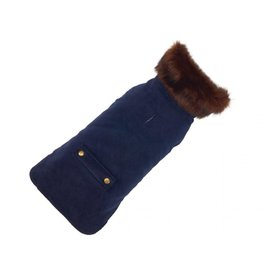 UP COUNTRY UP COUNTRY Blue Velvet Coat