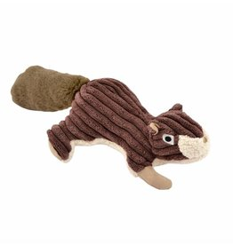 Tall Tails TALL TAILS Dog Squeaker Squirrel Brown 12 IN