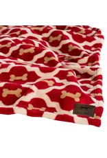 Tall Tails TALL TAILS Dog Blanket Red Bone