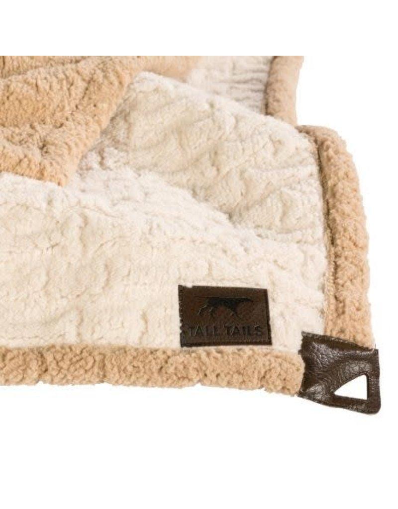 Tall Tails TALL TAILS Dog Micro Blanket Cream Bone 30x40