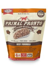 Primal Pet Foods PRIMAL Pronto Frozen Raw Canine Beef Formula