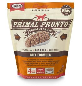 Primal Pet Foods PRIMAL Pronto Frozen Raw Canine Beef Formula